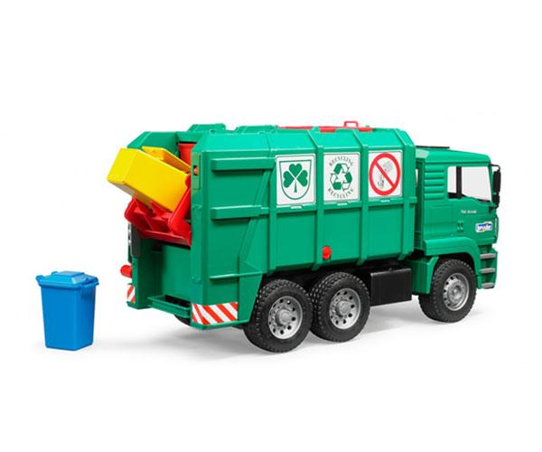Camión de basura de juguete MAN TGA Bruder 02753 - Ítem2