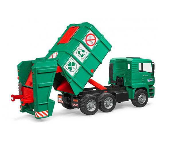 Camión de basura de juguete MAN TGA Bruder 02753 - Ítem3