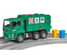 Camión de basura de juguete MAN TGA Bruder 02753 - Ítem5