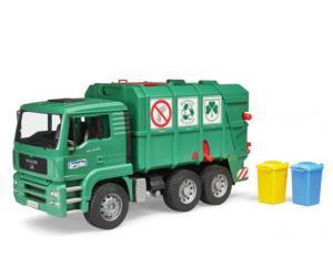 Camión de basura de juguete MAN TGA Bruder 02753