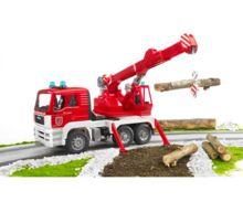Camión bomberos de juguete MAN TG 410 A con luces y sonido - Ítem2