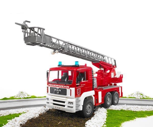 Camión bomberos de juguete MAN TG 410 A con escalera - Ítem7