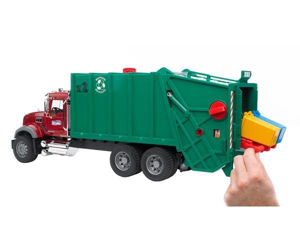 camion basura mack granite con carga trasera - Ítem1
