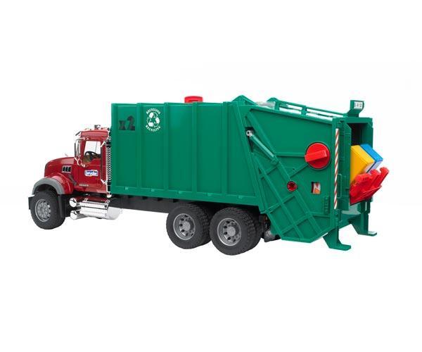 camion basura mack granite con carga trasera - Ítem2