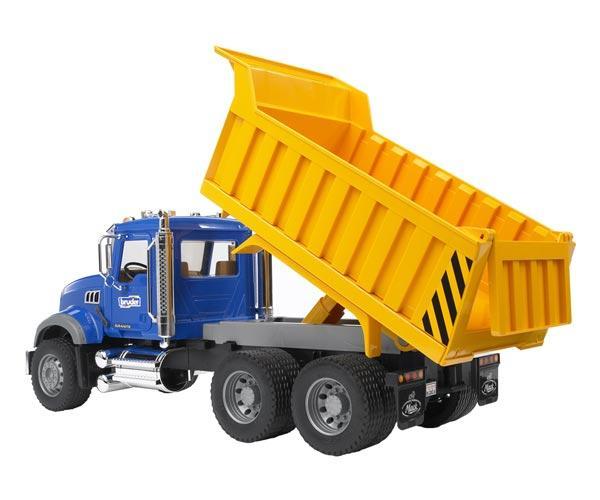 Camión de juguete MACK Granite con remolque basculante - Ítem2