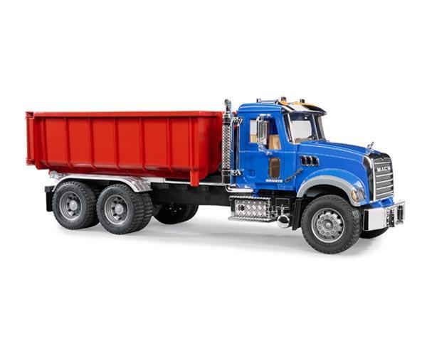 Camion de juguete MACK Granite LKW con contenedor - Ítem1
