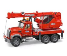 Camión grua de juguete MACK Granite con luces y sonido Bruder 02826 - Ítem2