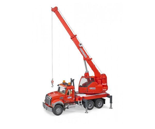 Camión grua de juguete MACK Granite con luces y sonido Bruder 02826 - Ítem3