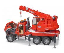 Camión grua de juguete MACK Granite con luces y sonido Bruder 02826 - Ítem4