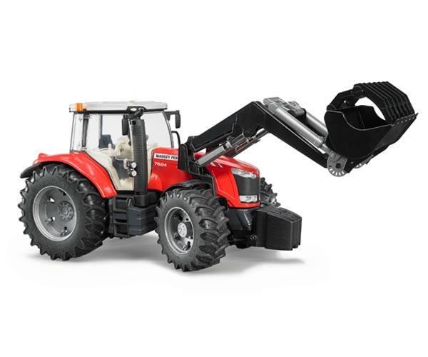 Tractor de juguete MASSEY FERGUSON con pala - Ítem2