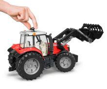Tractor de juguete MASSEY FERGUSON con pala - Ítem5