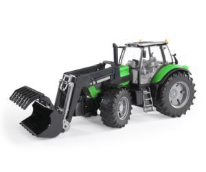 Tractor de juguete DEUTZ-FAHR Agrotron X720 con pala