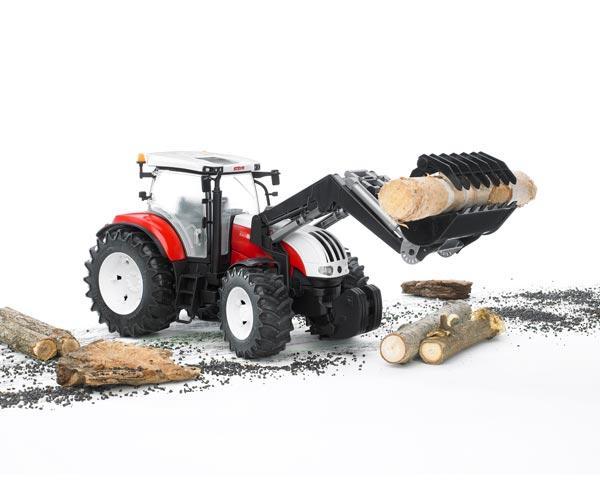Tractor de juguete STEYR CVT 6230 con pala - Ítem1