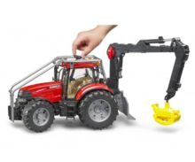 Tractor forestal de juguete CASE IH Puma 230 CVX Bruder 03097 - Ítem1