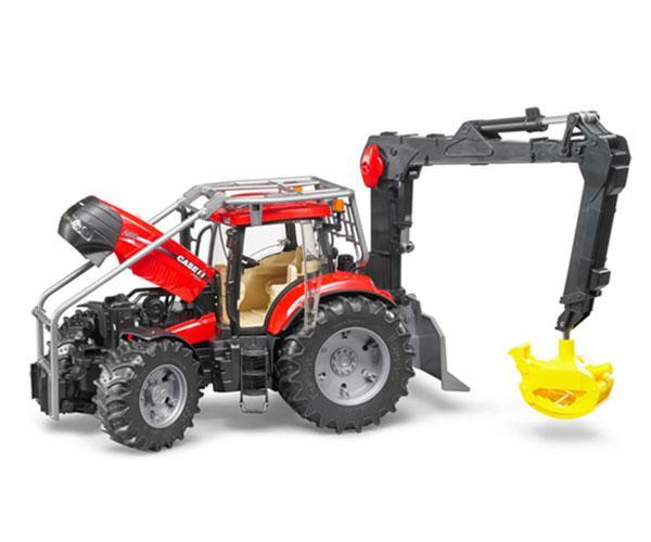 Tractor forestal de juguete CASE IH Puma 230 CVX Bruder 03097 - Ítem3
