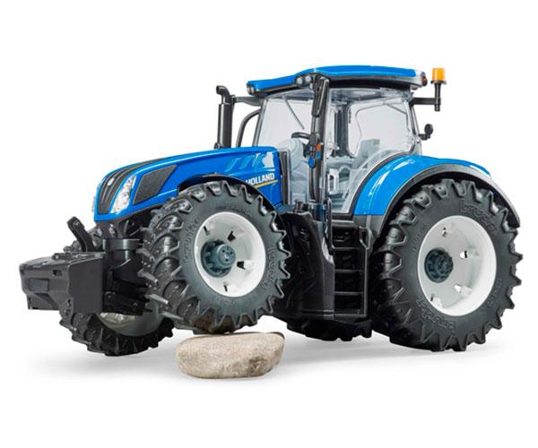 BRUDER 1:16 Tractor NEW HOLLAND T7.315 - Ítem1