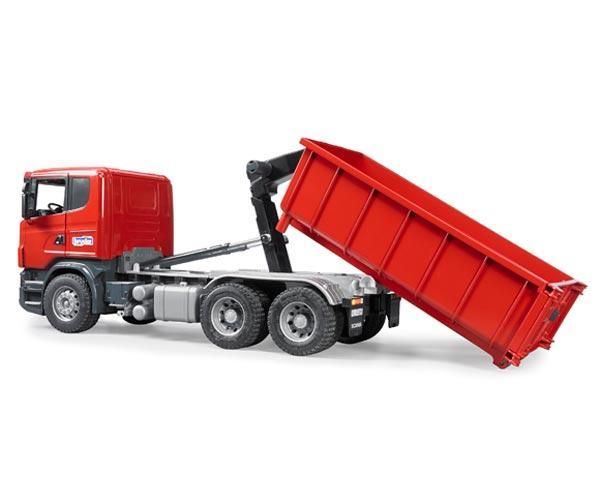 Camion de juguete SCANIA Serie R con contenedor - Ítem3