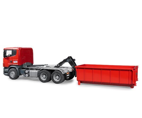 Camion de juguete SCANIA Serie R con contenedor - Ítem4