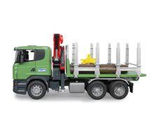 BRUDER 1:16 Camion forestal de juguete SCANIA Serie R con tres troncos - Ítem4