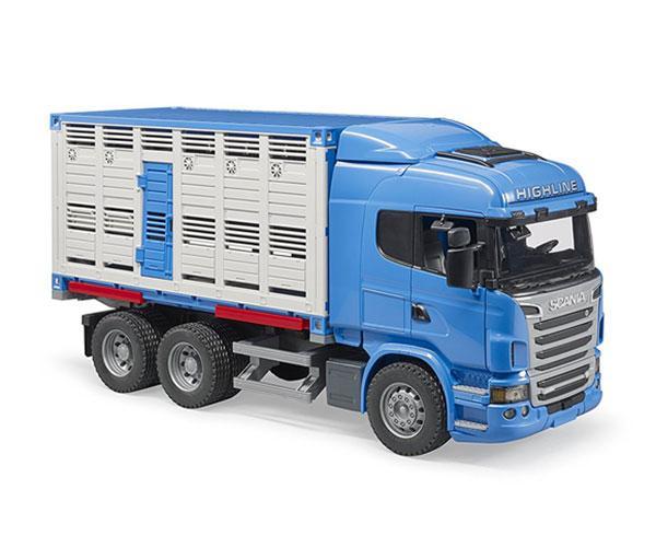 BRUDER 1:16 Camión de juguete SCANIA serie-R transporte de ganado - Ítem2