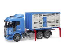 BRUDER 1:16 Camión de juguete SCANIA serie-R transporte de ganado - Ítem4