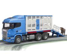 BRUDER 1:16 Camión de juguete SCANIA serie-R transporte de ganado - Ítem8
