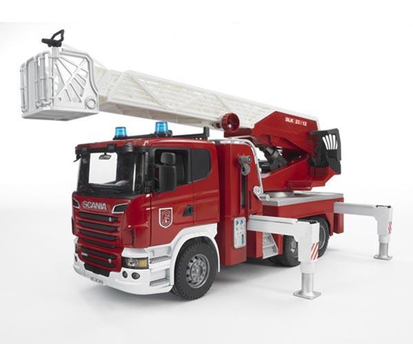Camion bomberos de juguete SCANIA Serie -R - Ítem1