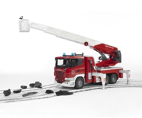 Camion bomberos de juguete SCANIA Serie -R - Ítem4