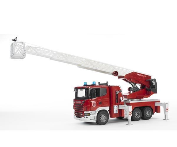 Camion bomberos de juguete SCANIA Serie -R