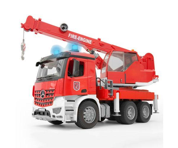 BRUDER 1:16 Camión-grúa bomberos MERCEDES-BENZ Arocs - Ítem11