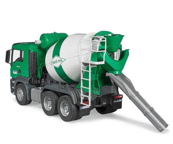 BRUDER 1:16 Camión hormigonera de juguete MAN TGS - Ítem1