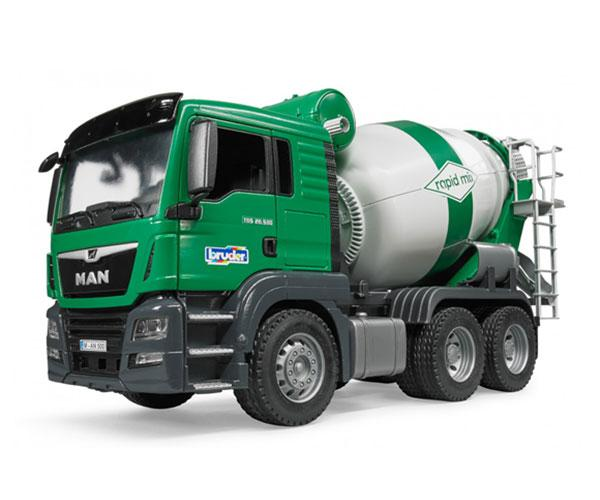 BRUDER 1:16 Camión hormigonera de juguete MAN TGS - Ítem3