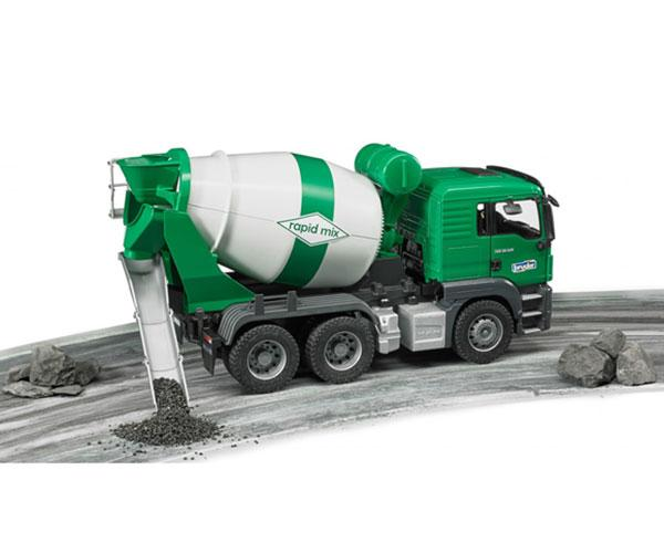 BRUDER 1:16 Camión hormigonera de juguete MAN TGS - Ítem5