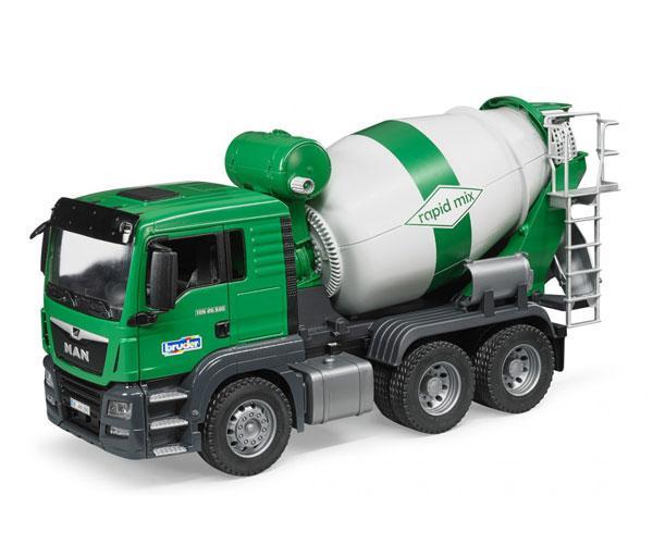 BRUDER 1:16 Camión hormigonera de juguete MAN TGS