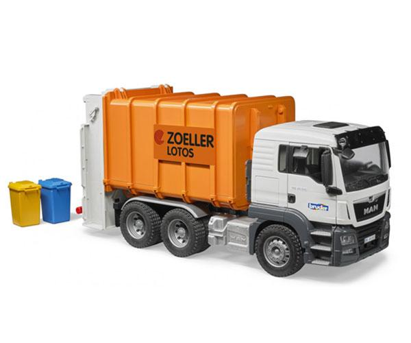 Camión de basura de juguete MAN TGS Bruder 03762 - Ítem1