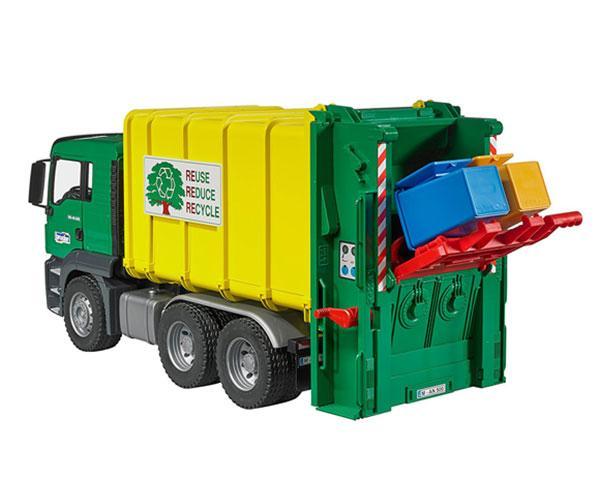 Camión de basura de juguete MAN TGS Bruder 3764 - Ítem5