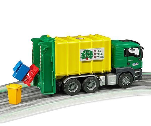 Camión de basura de juguete MAN TGS Bruder 3764 - Ítem8