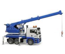 Camión grúa de juguete MAN TGS con luces y sonido Bruder 03770 - Ítem2