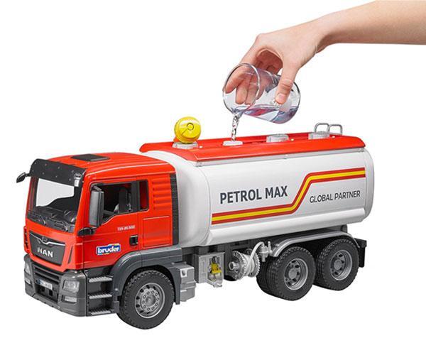 Camión cisterna de juguete MAN TGS Bruder 3775 - Ítem4