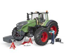 Tractor de juguete FENDT 1050 Vario con mecánico y accesorios Bruder 04041 - Ítem1