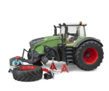 Tractor de juguete FENDT 1050 Vario con mecánico y accesorios Bruder 04041 - Ítem3