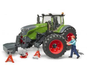Tractor de juguete FENDT 1050 Vario con mecánico y accesorios Bruder 04041