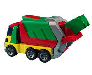 Camión basura de juguete