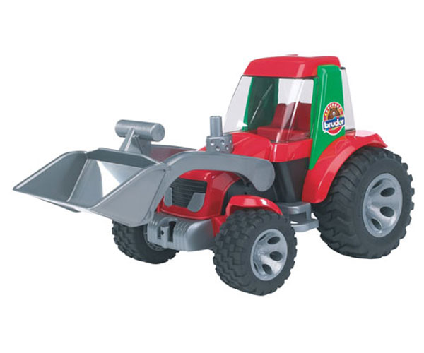 Tractor de juguete con pala