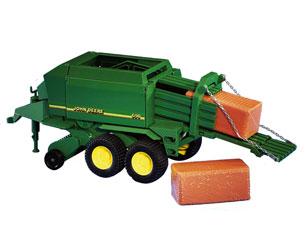 Empacadora de juguete JOHN DEERE 690 Bruder 02017