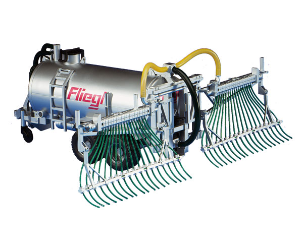 Remolque cisterna de juguete FLIEGL con inyector