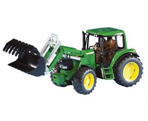 Tractor de juguete JOHN DEERE 6920 con pala - Ítem1