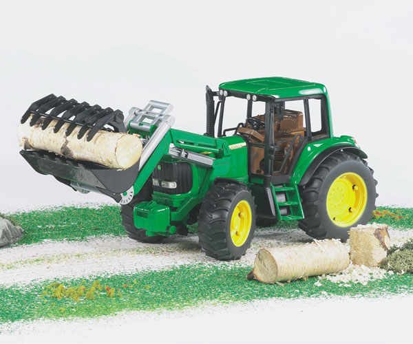 Tractor de juguete JOHN DEERE 6920 con pala - Ítem2