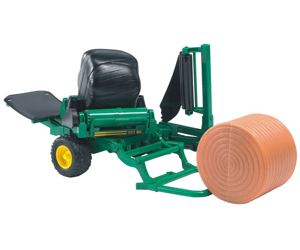 Encintadora de pacas cilindricas de juguete Bruder 02122