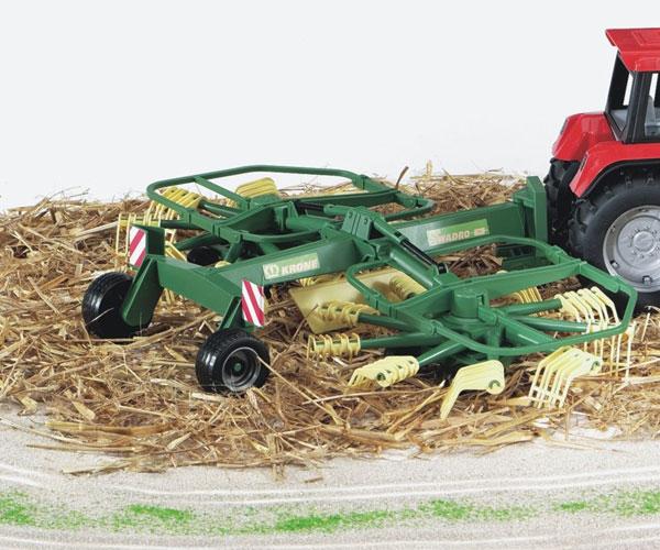 Rastrillo hilerador de juguete KRONE Swadro 761 Bruder 02216 - Ítem2